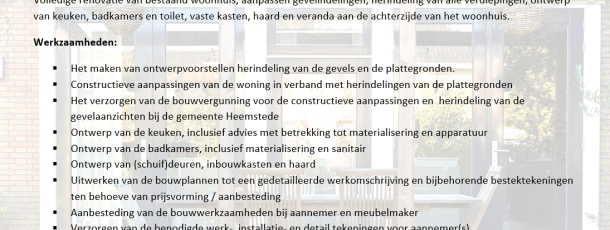 00 – Projectomschrijving