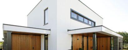 Nieuwbouw kubistisch woonhuis – Amstelveen