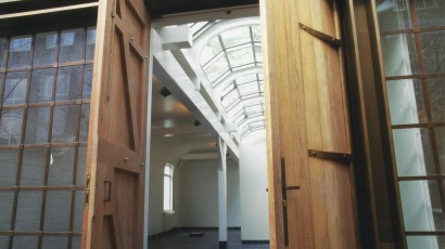 Nieuwbouw atelierruimte – Amsterdam