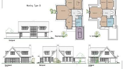 07. Nieuwbouw drie villa's te Alphen aan den Rijn