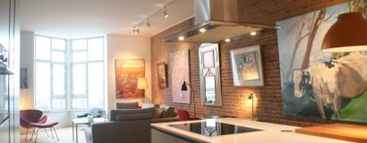 Verbouwing en herindeling appartement te Amsterdam