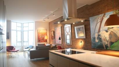 15. Verbouwing en herindeling appartement te Amsterdam