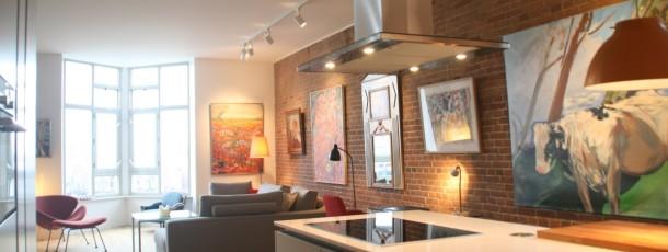 Verbouwing en herindeling appartement – Amsterdam