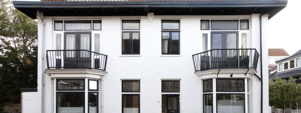 Samenvoegen twee woonhuizen – Bloemendaal 1