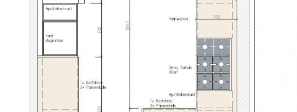 Samenvoegen twee woonhuizen – Bloemendaal 8